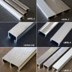 Listels décoratifs aluminium