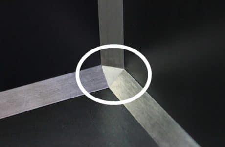 Profilés angles rentrants murs et sols