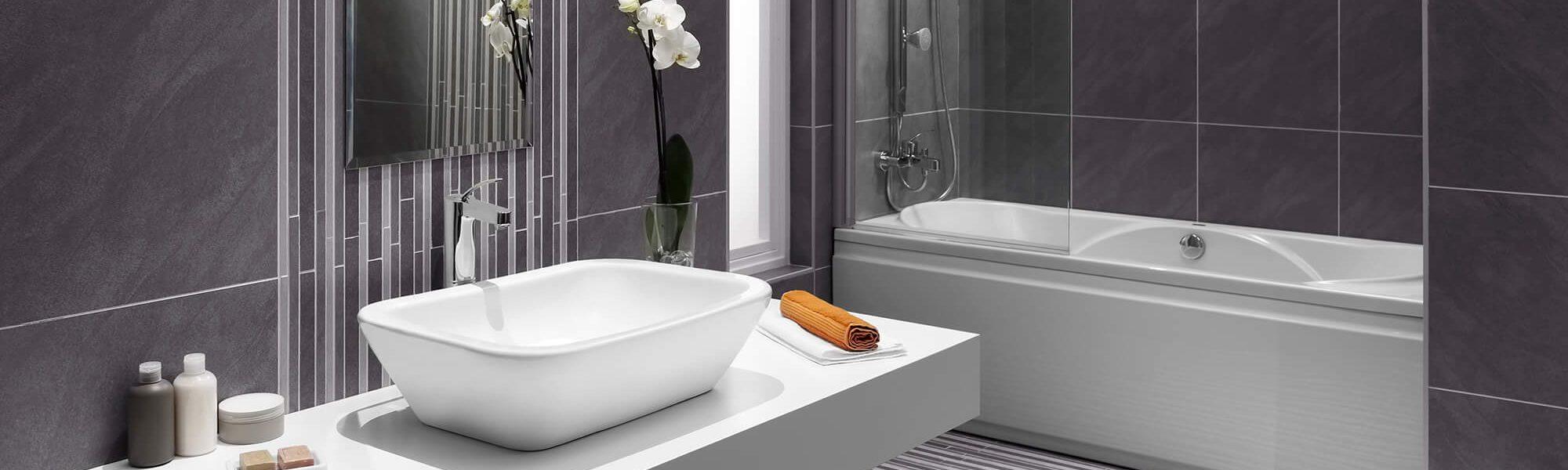 Profilés, croisillons pour les finitions de votre salle de bain